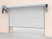steel rolling shutters with shaft electric